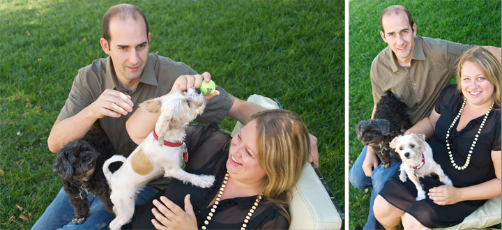 Fun candid documentary lifestyle portrait of pets and family in Burbank Los Angeles