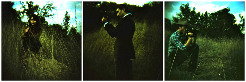 cross processed holga toy camera film outdoor portrait photography