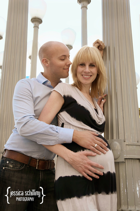 charming fun hip maternity photos in Los Angeles