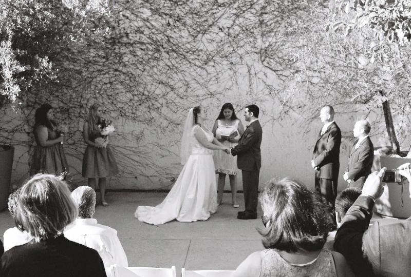 DIY wedding at Griffith Park on 35mm film