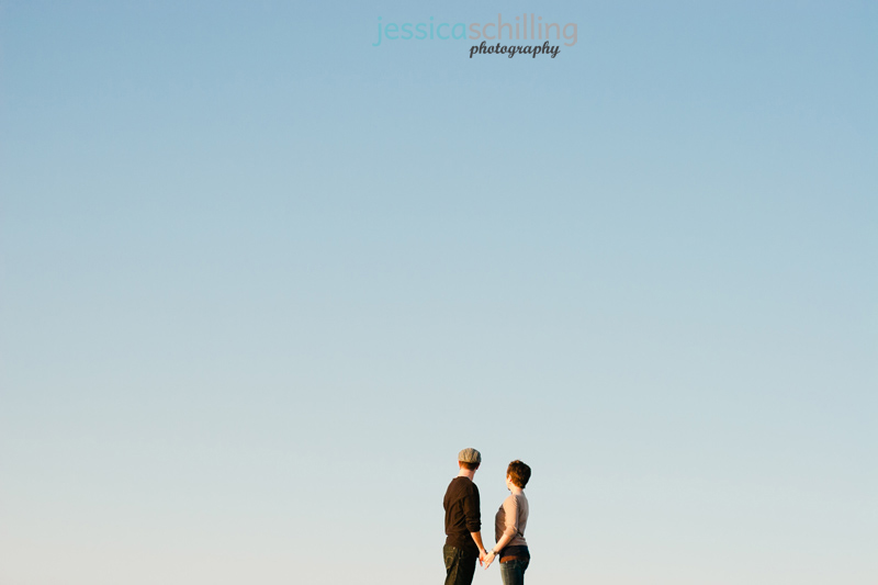Quirky, modern, artistic wedding and engagement photography by Jessica Schilling