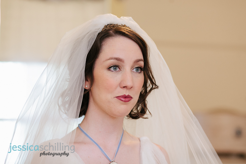 indie wedding photographer, Heritage Square bride