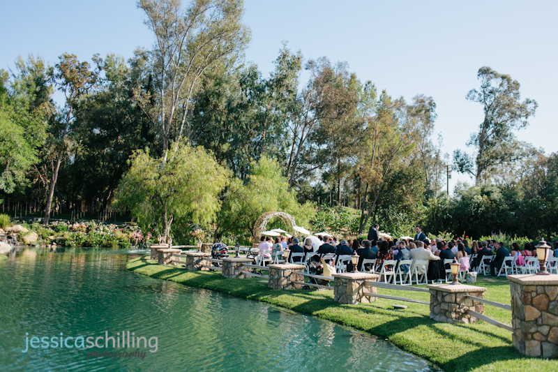 Lake Oak Meadows wedding photographer outdoor ceremony Temecula