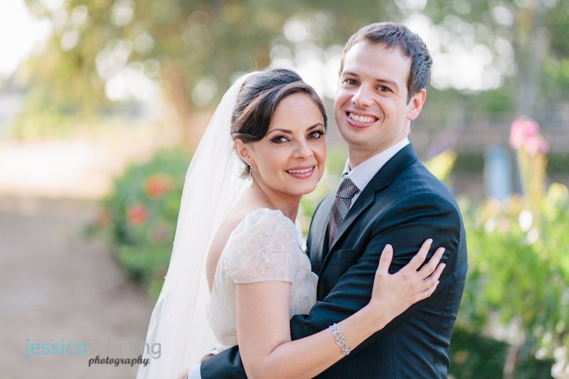 Los Angeles indie wedding photographer Jessica Schilling bride and groom