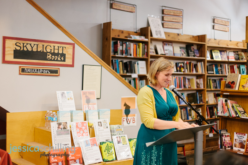 Los Angeles author Pamela Ribon at book reading