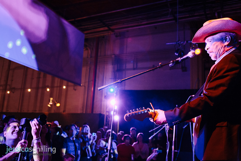 Dave Alvin from X performs onstage in Los Angeles at charity fundraiser concert