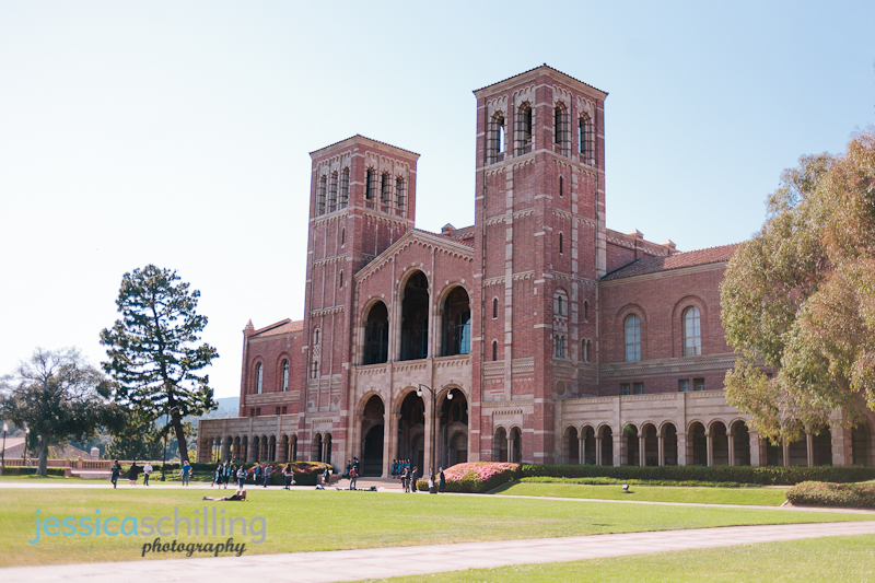 UCLA Los Angeles engagement photographer