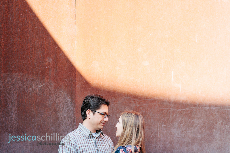 Los Angeles indie quirky modern engagement photographer