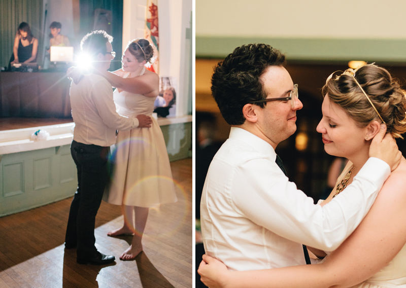 sweet dreamy first dance at Eagle Rock Women
