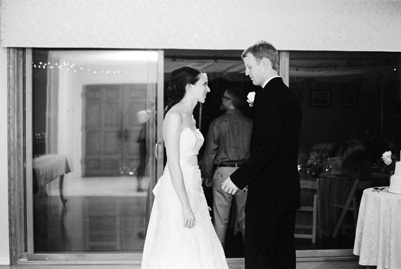 Los Angeles wedding film wedding photographer backyard home wedding reception