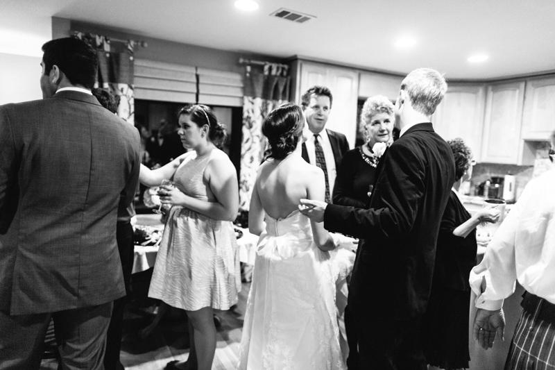 Los Angeles indie at home wedding Rancho Palos Verdes near San Pedro