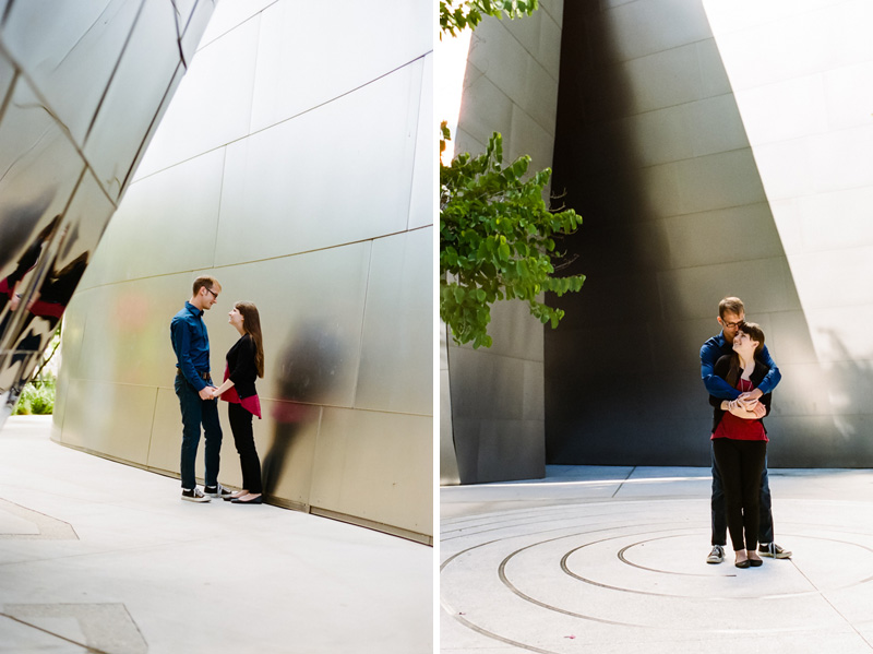 LA Disney Concert Hall film engagement photos