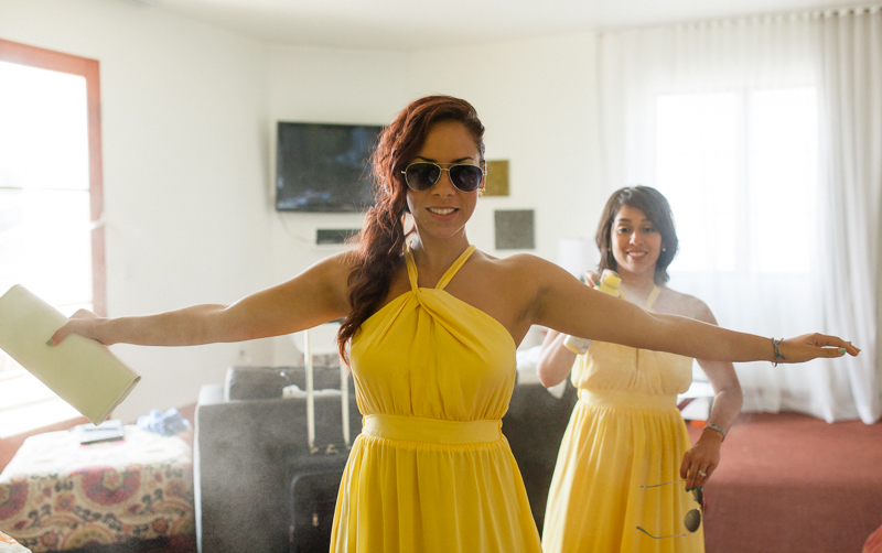 Fun modern quirky cool Los Angeles wedding photography