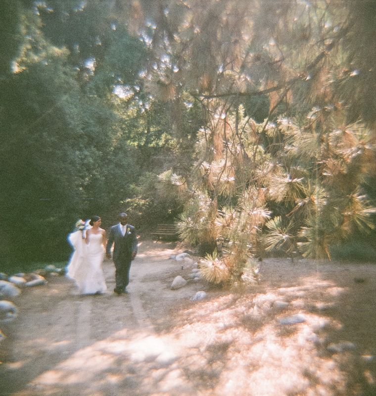 Unique alternative offbeat indie wedding photography with toy cameras and Holga