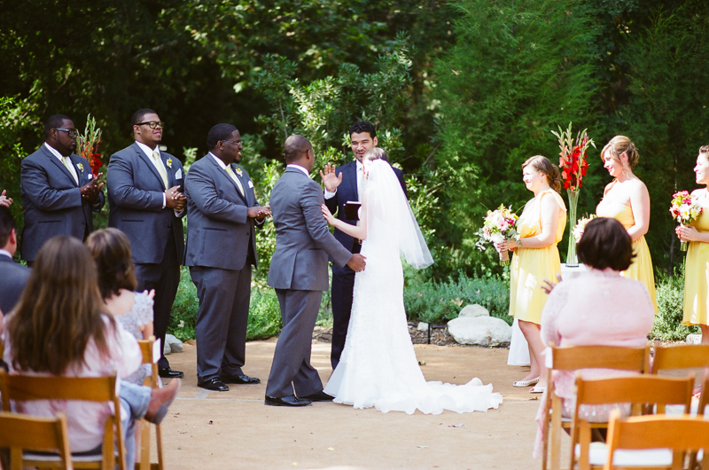 Superbe ... Outdoor Wedding Ceremony At Rancho Santa Ana Botanic Gardens In  Claremont ...