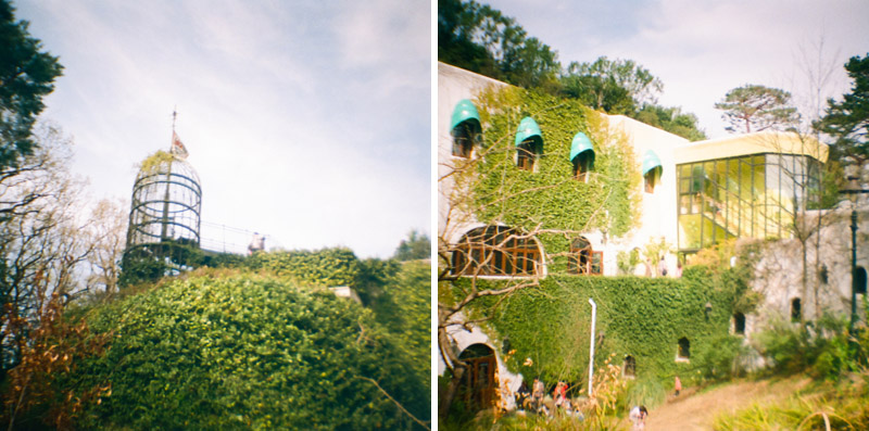 Studio Ghibli museum Tokyo with Diana Mini toy camera