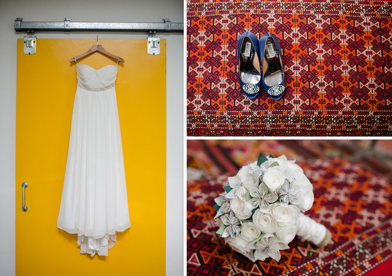 Los Angeles bohemian wedding details