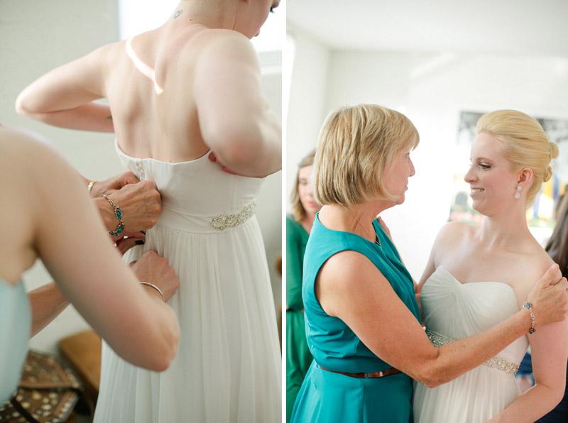 Sweet modern documentary wedding photography Los Angeles