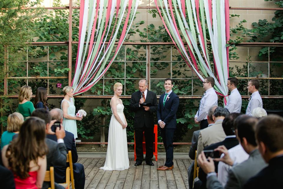 Elysian LA unique, alternative, hipster wedding ceremony venue