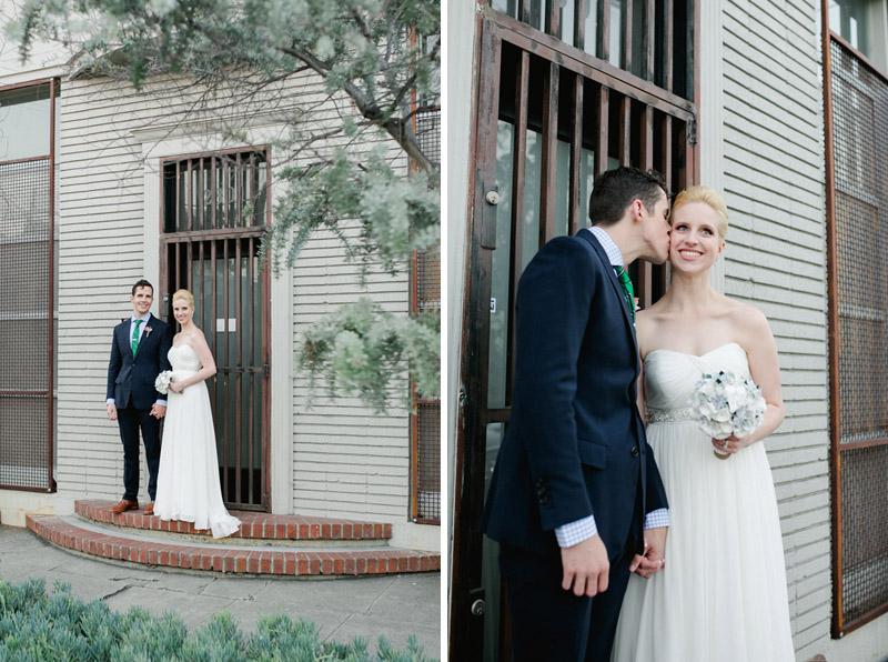 Los Angeles modern, sweet, stylish wedding photography