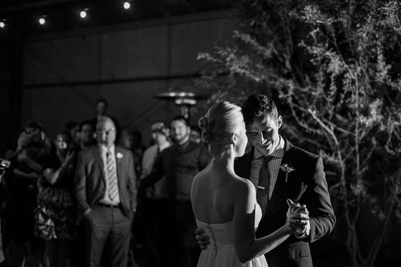 Los Angeles wedding reception at Elysian venue