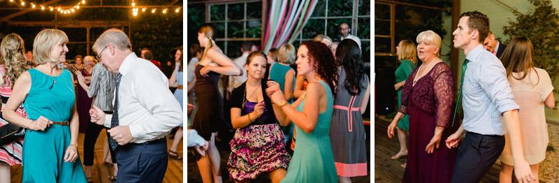 dancing at wedding reception at Elysian LA