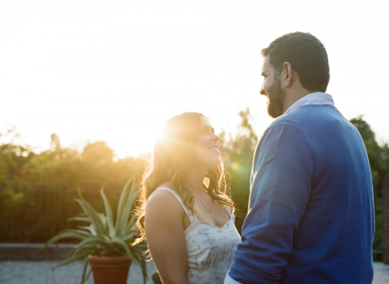 Modern romantic natural wedding and engagement photography in Los Angeles