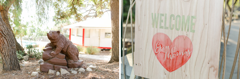 Los Angeles summer camp outdoor wedding photography