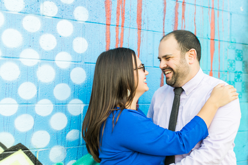 LA arts district graffiti street art murals engagement session location
