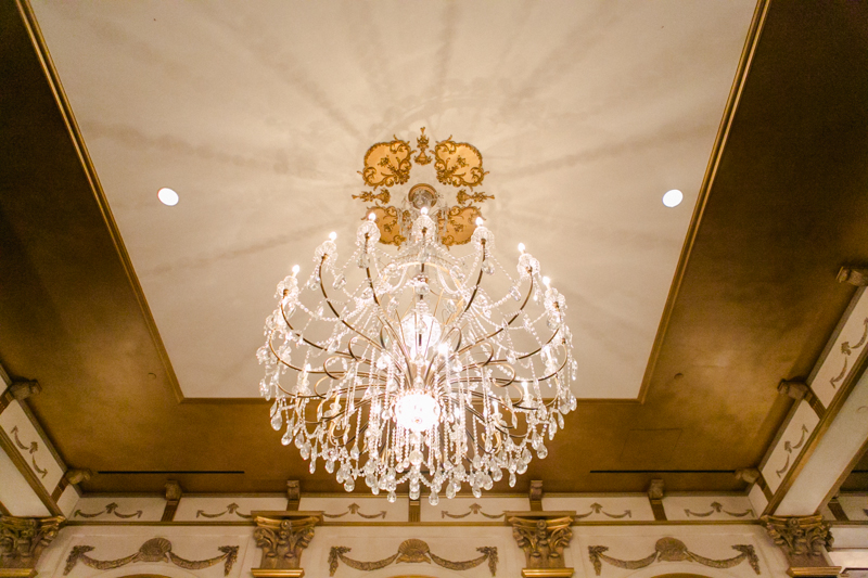 Paris Hotel beautiful chandelier
