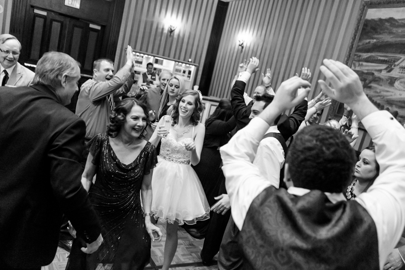 Paris hotel wedding reception photographer