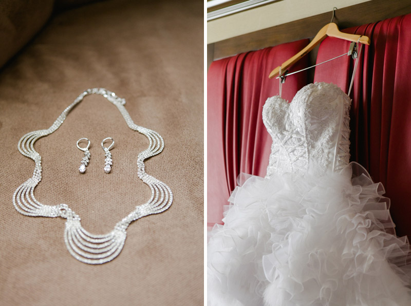 Las Vegas destination wedding details