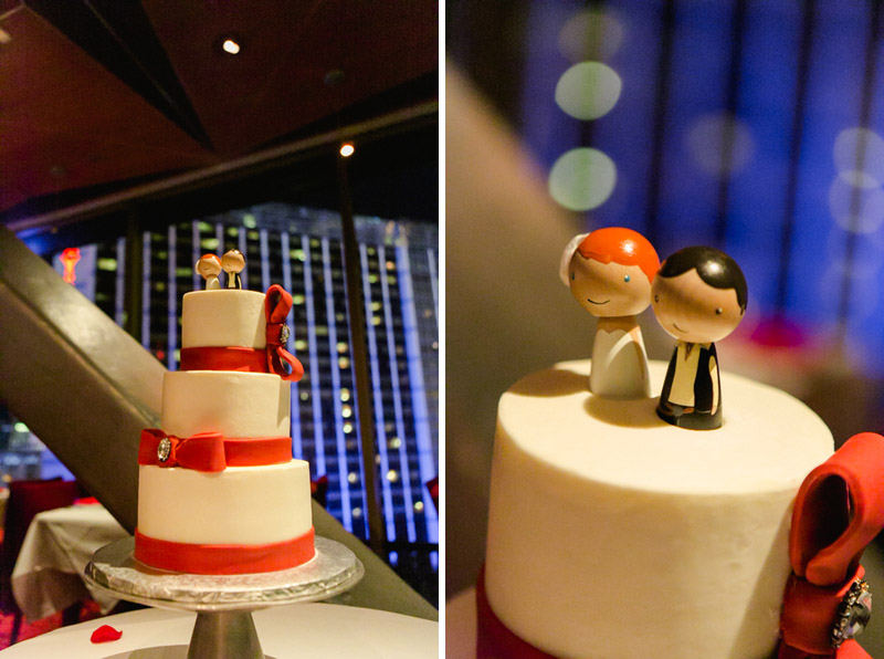 custom cake toppers with Han Solo groom