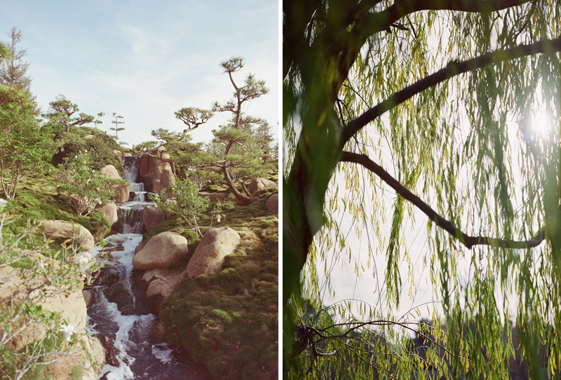 Beautiful peaceful natural Japanese Gardens for unique Los Angeles venues