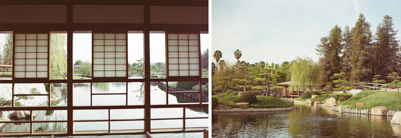 Japanese Gardens perfect setting for small, intimate weddings in natural setting
