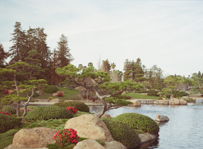Los Angeles unique wedding venue Japanese Gardens in Van Nuys
