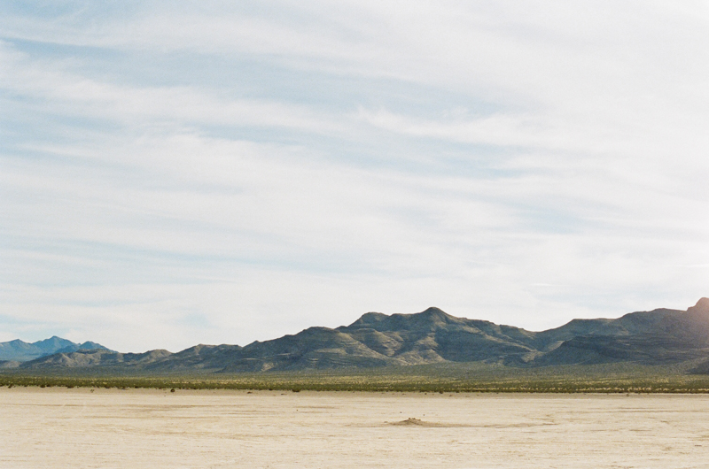 Las Vegas Salt Flats film photography
