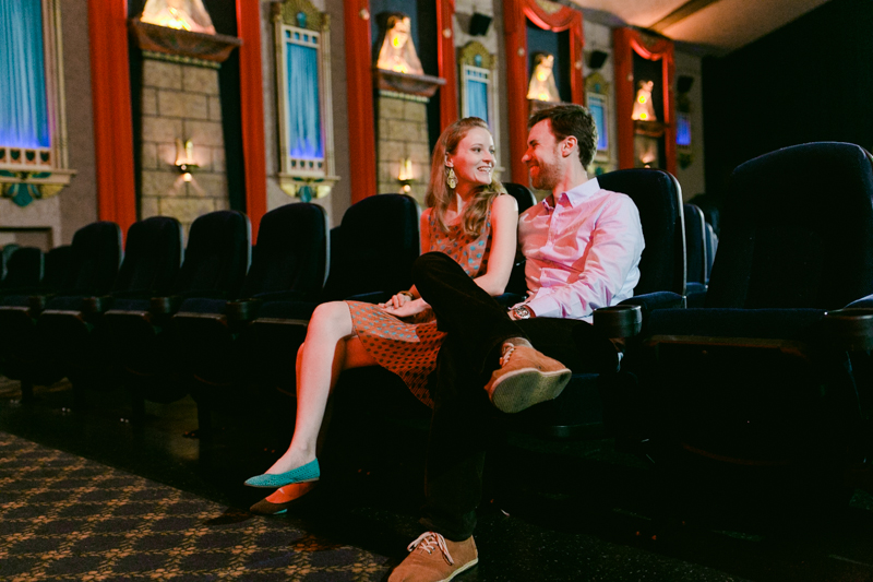 LA Hollywood Los Feliz Vista movie theater engagement