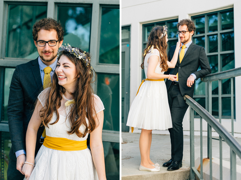 LA hipster wedding photography