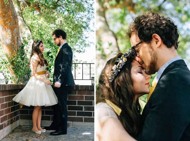 Los Angeles bohemian elopement photography