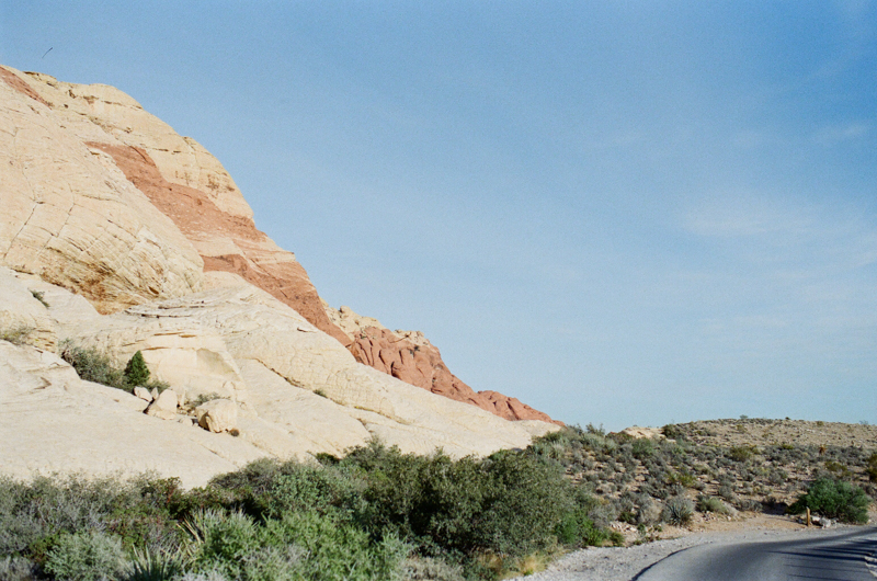 Red Rock Canyon NV state park desert film photography