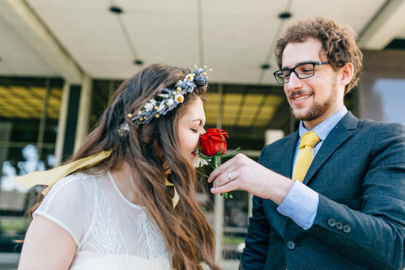 Los Angeles indie wedding photography