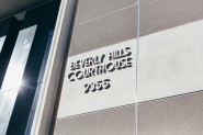 Beverly Hills Courthouse elopement photorapher