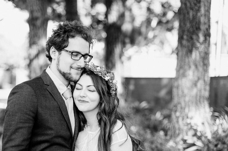 Los Angeles bohemian elopement