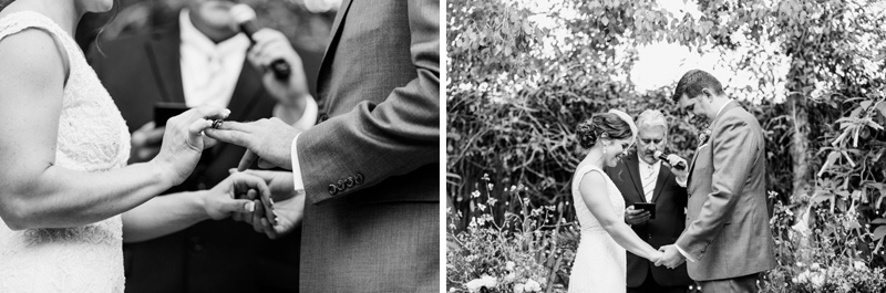 Modern romantic artistic black and white Los Angeles wedding photography