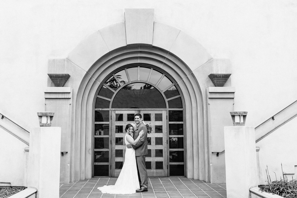 Pasadena Cal State PolyTech bride and groom wedding photography