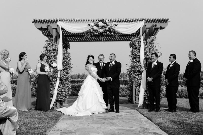 Ponte Family Vineyard wedding Temecula CA