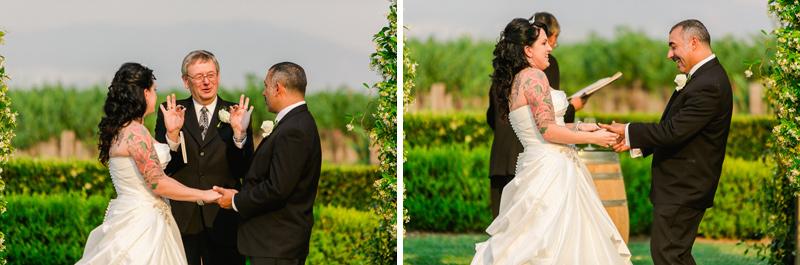 Southern California vineyard wedding photographer Jessica Schilling