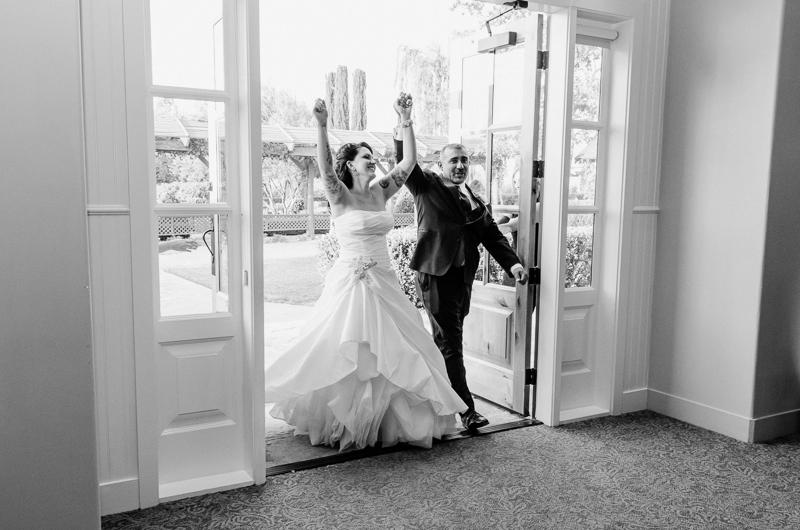 Ponte Winery wedding reception