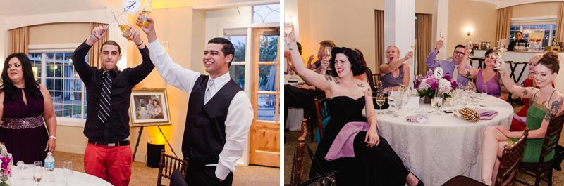 Modern documentary wedding photographer